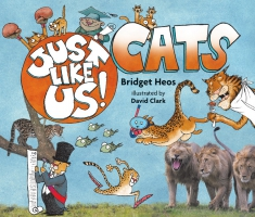 Jacket Image For: Just Like Us! Cats