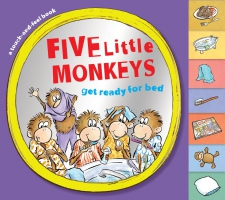 Jacket Image For: Five Little Monkeys Get Ready for Bed