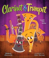 Jacket Image For: Clarinet and Trumpet (book with shaker)