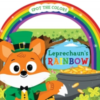 Jacket Image For: Leprechaun's Rainbow (board book with handle)