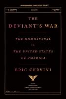 Jacket Image For: The Deviant's War
