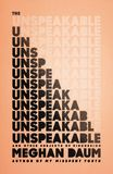 Jacket Image For: The Unspeakable
