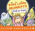 Jacket Image For: Five Little Monkey Trick or Treat