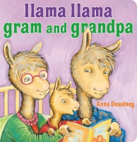 Jacket Image For: Llama Llama Gram and Grandpa