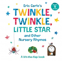 Jacket Image For: Eric Carle's Twinkle, Twinkle, Little Star and Other Nursery Rhymes