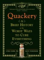 Jacket image for Quackery