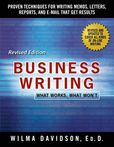 Jacket Image For: Business Writing