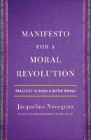 Jacket Image For: Manifesto for a Moral Revolution