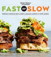 Jacket Image For: Better Homes and Gardens Fast or Slow