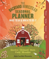 Jacket Image For: The Backyard Homestead Seasonal Planner