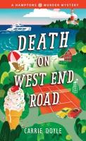 Jacket Image For: Death on West End Road