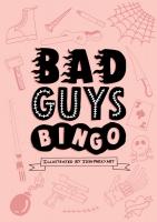 Jacket Image For: Bad Guys Bingo